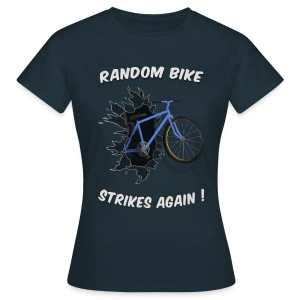 Random Bike Strikes Again! (Women). - Women's T-Shirt