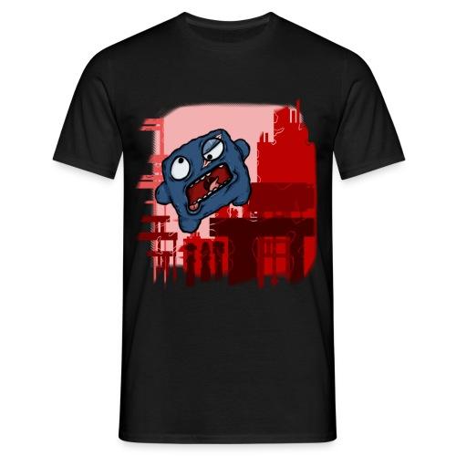 Cookie Meat Boy Design #1 - Men's T-Shirt