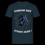 T-Shirts ~ Men's T-Shirt ~ Random Bike Strikes Again!