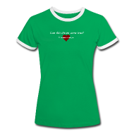 T-Shirts ~ Women's Ringer T-Shirt ~ One More Touch#1-w