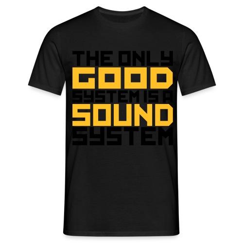 SOUND Shirt Male - Männer T-Shirt