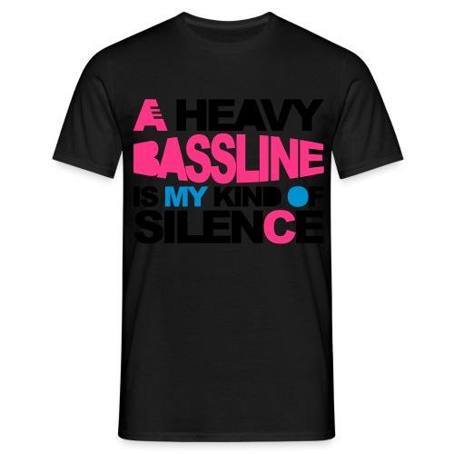 Bassline Shirt - Männer T-Shirt