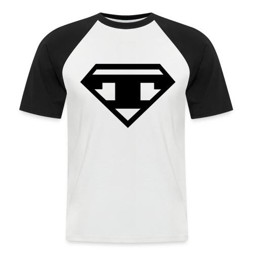 Baseball - Black T - Men's Baseball T-Shirt