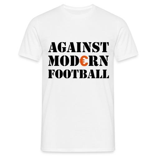 Against Modern Football - Männer T-Shirt