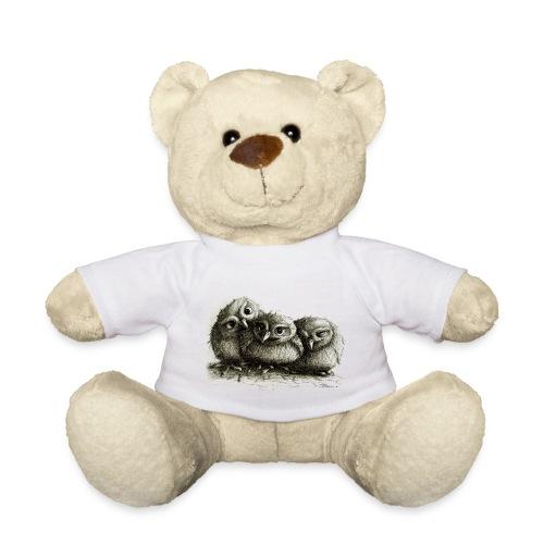 Drei junge Eulen - Teddy