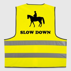 horse and rider Jackets & Vests - Reflective Vest