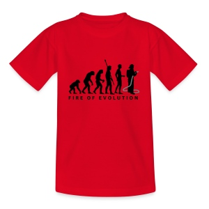 Jugendfeuerwehr Gahlen - Teenager rot - Teenager T-Shirt