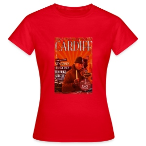 LADIES Taff Tourism: Cardiff - Women's T-Shirt