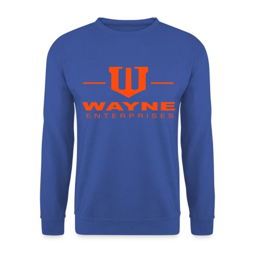 Wayne Enterprises [blue-orange] - Männer Pullover