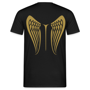 WingBeat-Gold Glitter - Men's T-Shirt