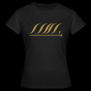 WingBeat-Gold Glitter - Women's T-Shirt