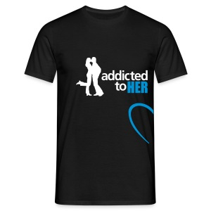addicted_to_her - Men's T-Shirt