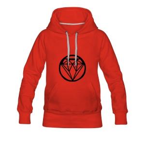 #DIAMOND - Vrouwen Premium hoodie