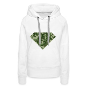#DIAMOND #X #LEGER - Vrouwen Premium hoodie