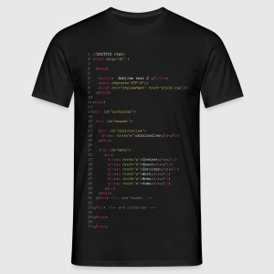 sublime-text2 Tee shirts - T-shirt Homme