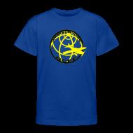 T-shirts ~ T-shirt tonåring ~ Barn T-Shirt Blå