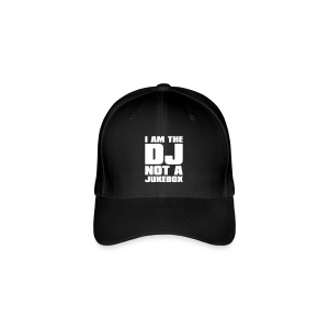 I AM THE DJ - Basecap - Flexfit Baseball Cap