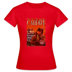 LADIES Taff Tourism: Cardiff (alt text) - Women's T-Shirt