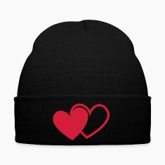 loving hearts Valentine's Day love I love you hear Caps & Hats