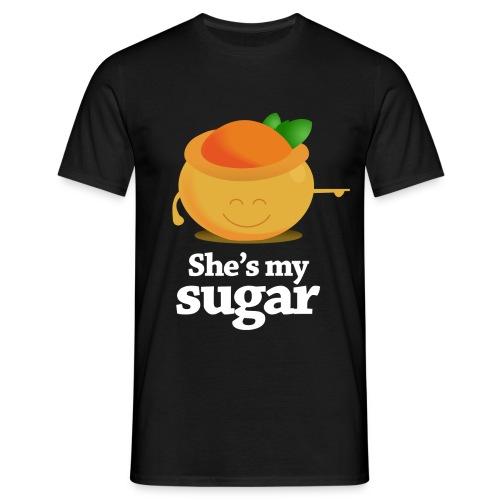 She's My Sugar - Men's T-Shirt
