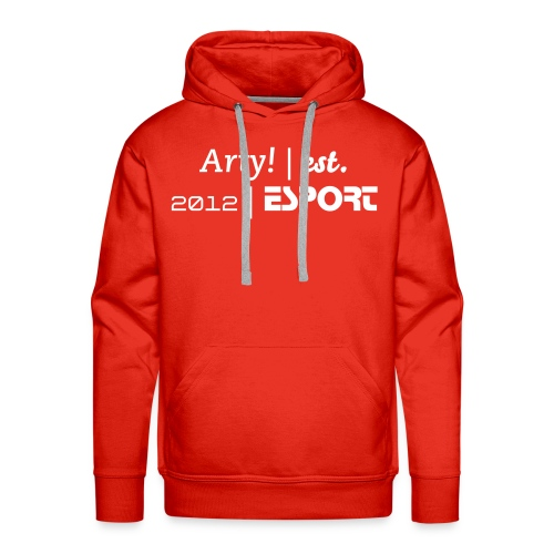 Arty eSport Sweater Red - Men's Premium Hoodie
