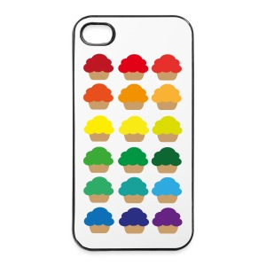Rainbowcupcakes - iPhone 4/4s Hard Case