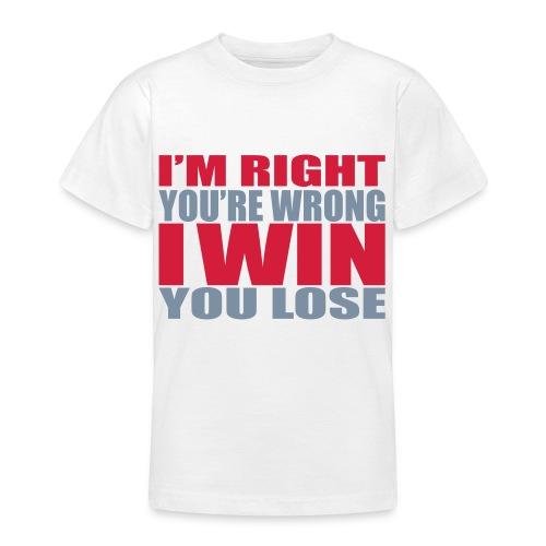 mostache - Teenager T-Shirt
