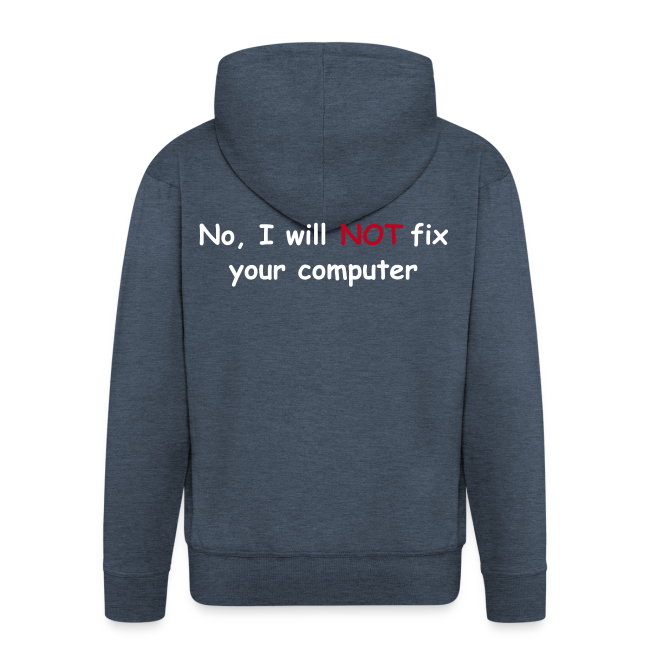 Will not fix your computer
