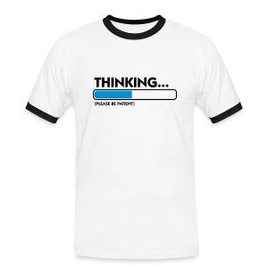 Thinking - Mannen contrastshirt