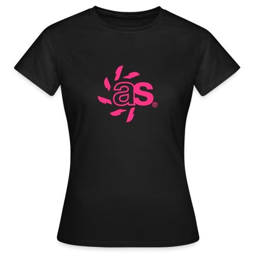T-Shirt ASYNCRON 2.01 pink - Frauen T-Shirt