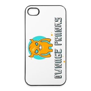 Ownage Pranks Orange Logo iPhone   - iPhone 4/4s Hard Case