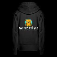 Hoodies & Sweatshirts ~ Women's Premium Hoodie ~ Ownage Pranks Orange Logo Hoodie