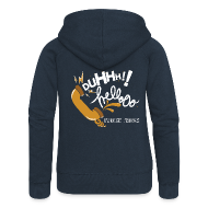 Hoodies & Sweatshirts ~ Women's Premium Hooded Jacket ~ Duh Hello Hoodie