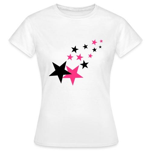 the pink stars - T-shirt Femme