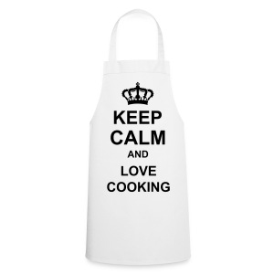 Keep Calm And Love Cooking Apron MENS - Cooking Apron