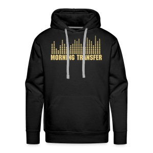 Morning Transfer Hoddie - The Black 1 - Männer Premium Hoodie