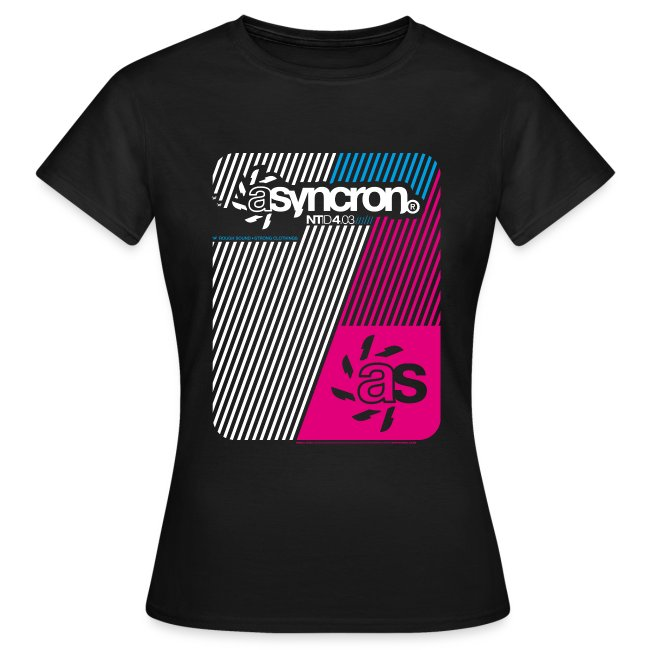 T-Shirt ASYNCRON 4.03 dark