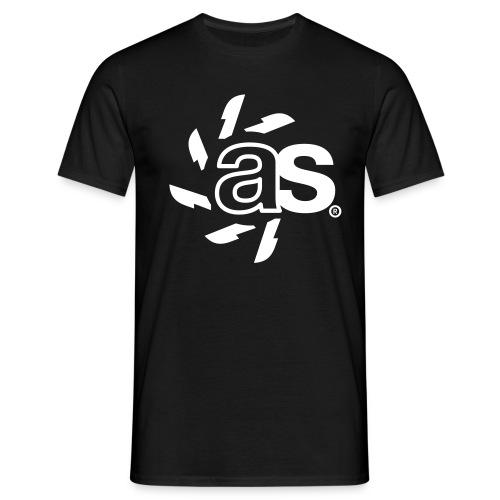 T-Shirt ASYNCRON 2.01 white - Männer T-Shirt