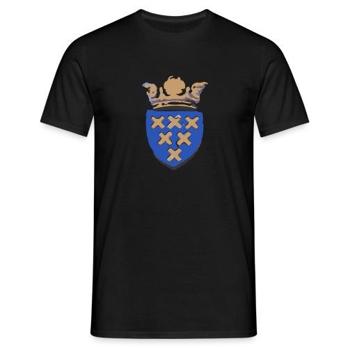 Kockengen shirt wapen (zwart) - Mannen T-shirt