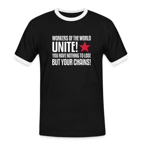 Workers Unite! Contrast Tee - Men's Ringer Shirt