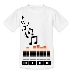 Music Kids T-Shirt - Teenage T-shirt
