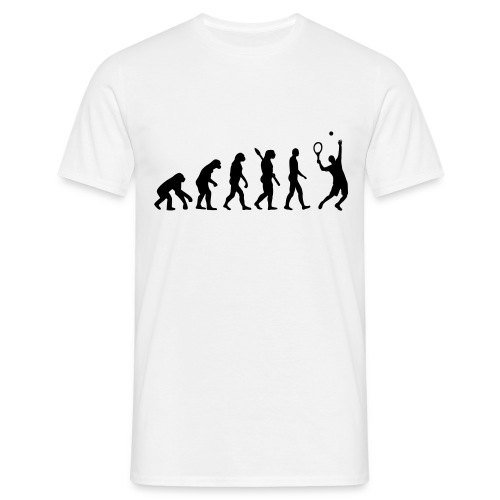 Evolution Of Tennis - Men's T-Shirt