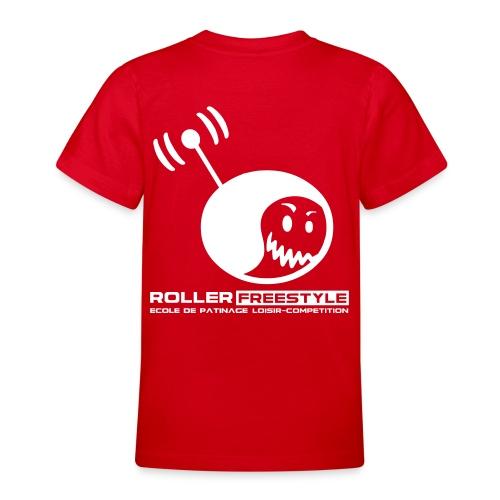 T-Shirt Ado (flocage blanc) - T-shirt Ado