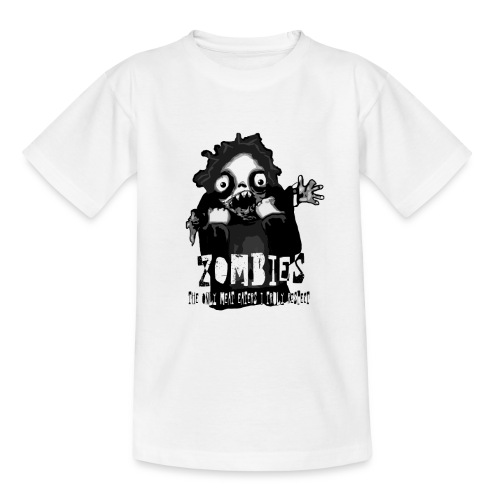 Zombies - The only Meat Eaters I truly Respect - T-shirt barn
