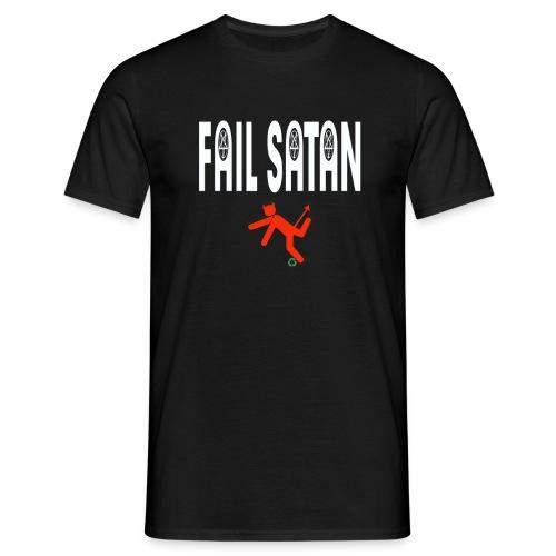 Fail Satan - By recycling - T-shirt herr