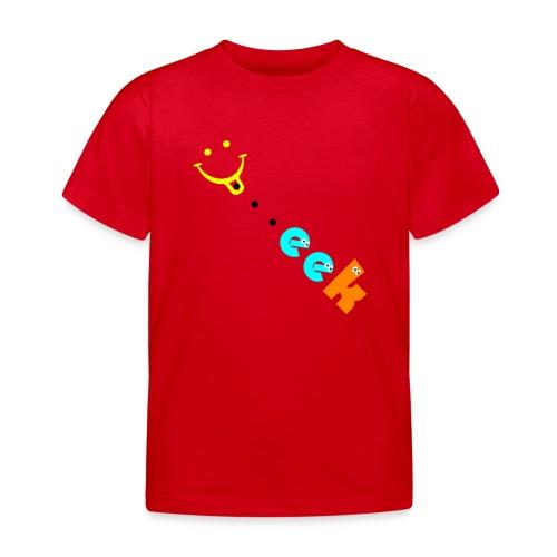 Smiley geek - Kids' T-Shirt