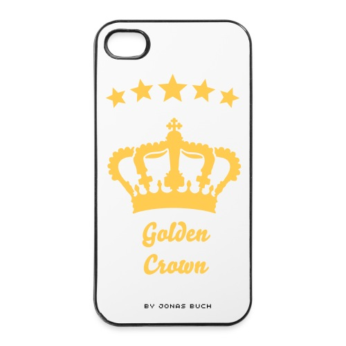 Golden Crown iPhone 4/4s cover - iPhone 4/4s Hard Case
