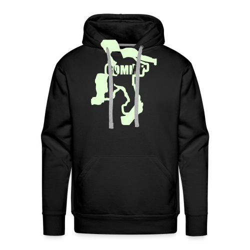 Black Hoodie - Men's Premium Hoodie