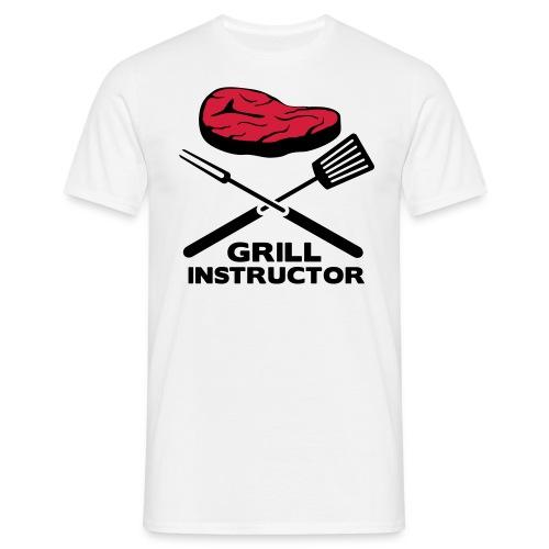 Grill Intructor - Männer T-Shirt