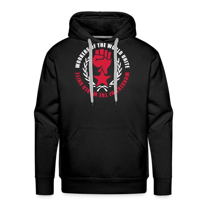Marxist Fist Hoodie - Men's Premium Hoodie